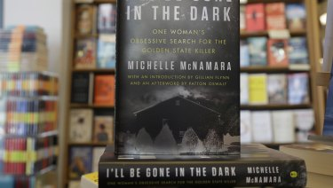 'I'll Be Gone in the Dark: One Woman's Obsessive Search for the Golden State Killer' by Michelle McNamara at a bookstore in San Francisco.