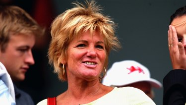 Shane Warne's mother Brigitte.