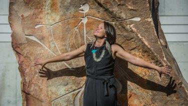 Indigenous Cabrogal woman Mikaela Jade, founder of digital storytelling app Indigital.