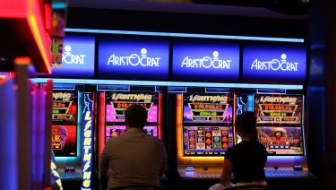 Analysts say US income and corporate tax changes will benefit Australian-based pokies supplier Aristocrat.