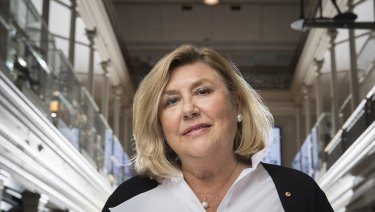 Australian Museum, Kim McKay is asking the state government to fund a new exhibition space that will let it host international blockbuster exhibitions.