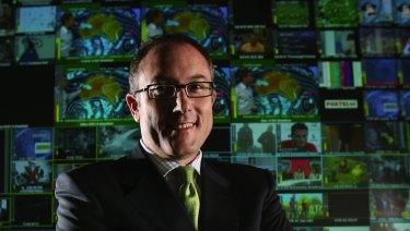 Foxtel CEO Patrick Delany