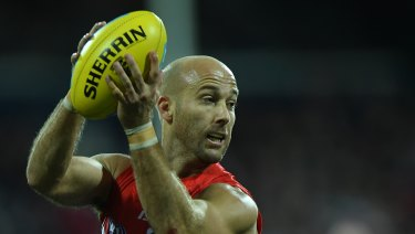 Veteran: Jarrad McVeigh is fighting an uphill battle to be fit for round one.