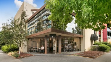 A three-level corner office building at 87-91 Palmerston Crescent got more than 100 enquiries.