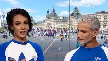Lucy Zelic, with Craig Foster, addresses criticism over her pronunciations.