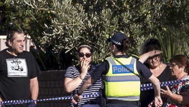 Homicide Squad detectives investigate after a man was found dead with gunshot wounds in Sunshine North.