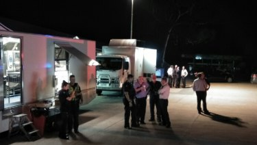 Police shot a man dead at a bottleshop in Park Orchards on Sunday night.