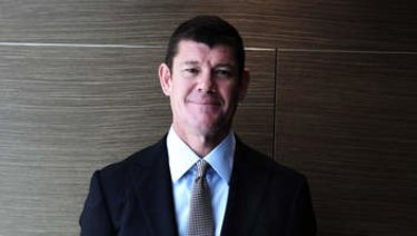 Crown's James Packer is selling down his stake.