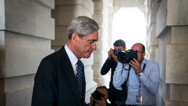 Robert Mueller, the Justice Department's special counsel.