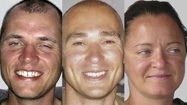 The undated wanted photos of Uwe Boehnhardt (left), Uwe Mundlos and Beate Zschaepe.