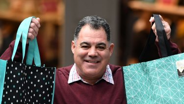Only one state has no plan to ban single-use bags. Even retailers are on board, with rugby league legend Mal Meninga serving as the National Retail Association's plastic bag ban ambassador.
