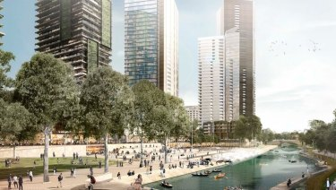 Parramatta Council's vision for the Parramatta River.