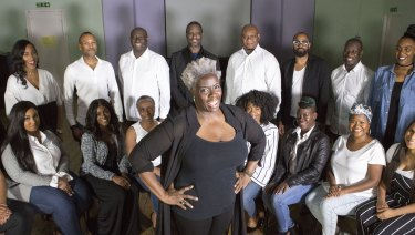 Karen Gibson and The Kingdom Choir performed the soul classic Stand By Me at the royal wedding.