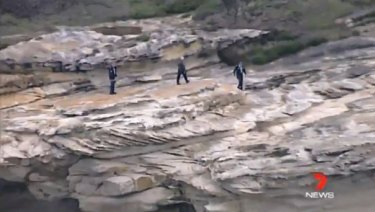 A man has died after falling off a cliff in Kurnell. He may have been whale watching at the time, police say.
