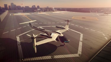 What a flying car may look like.