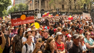 Melburnians marched in protest.