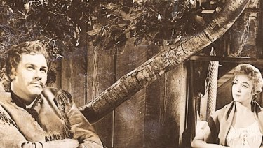 Scene from Seven Brides for Seven Brothers.