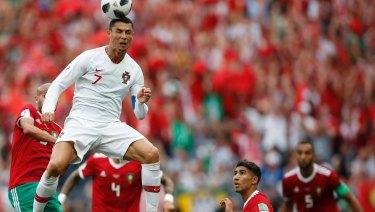 Portugal's Cristiano Ronaldo.