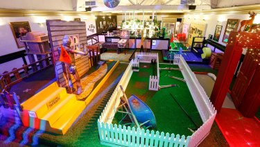 Mini golf bar Holey Moley has leased a site at Kings Cross