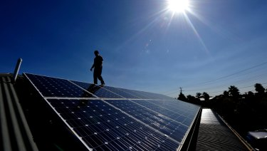 "Bill Kibben calls the solar panel a ""literal miracle""."