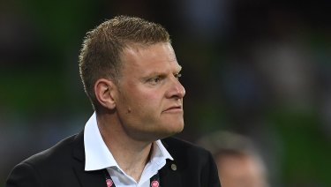 Short stint: Josep Gombau is leaving the Wanderers after less than six months in charge.