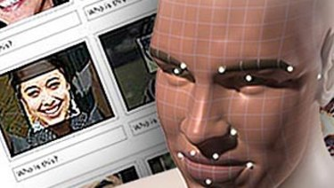 Facebook facial recognition.
