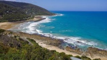 The backpackers were carjacked at a lookout near Wye River.