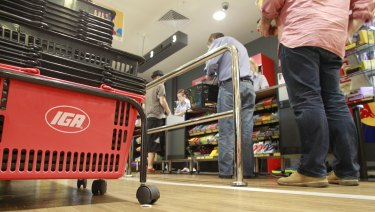 Metcash says joining the code could hurt its IGA retailers.