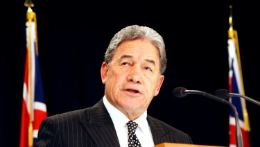 New Zealand's acting prime minister Winston Peters says the Australian government is in breach of the UN Convention on the Rights of the Child.