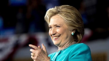Hillary Clinton in 2016.