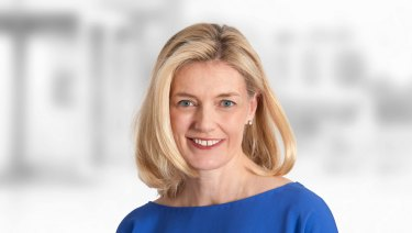 AMP chairman Catherine Brenner has stepped down.