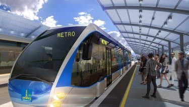 The Brisbane Metro has been listed as a high priority project in Infrastructure Australia's latest report.