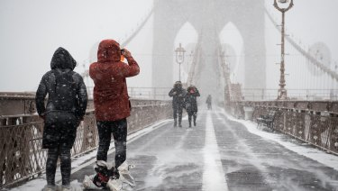 Extreme snow storms have been on the increase in north-eastern US, particularly since 1990, new research shows.