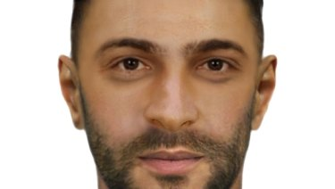 Police are seeking a man of this appearance over the Lalor grenade attack.