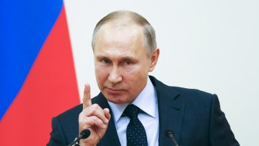 Russian president Vladimir Putin suggests that most Russian athletes are clean.