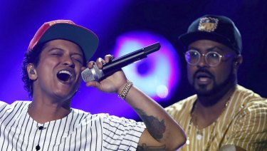 Bruno Mars deploy his affable pseudo-funk in the name of L'Oreal hair care products.