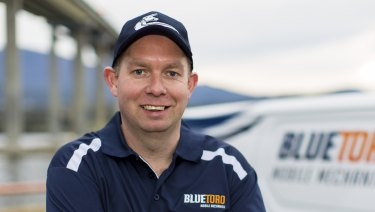 Corey Barker has bought into the Blue Toro franchise.