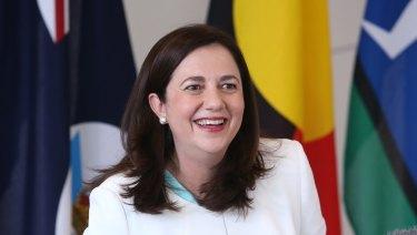 Premier Annastacia Palaszczuk said she would focus on jobs, healthcare and education.