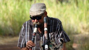 Mark Atkins at Kalamina Gorge.