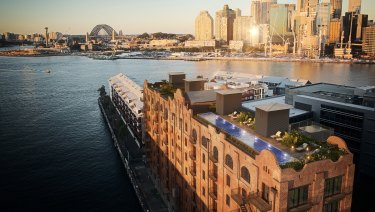 No.8 REVY building, Pyrmont is being developed by Aqualand to luxury apartments.