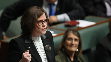 "Labor MP and former union boss Ged Kearney pointed the finger at ""racist dogwhistling"" toward refugees."