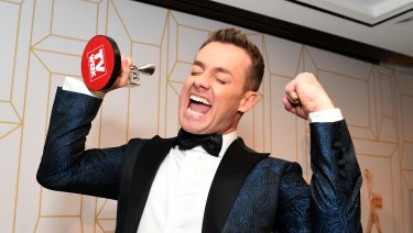 Grant Denyer has won the 2018 Gold Logie award.
