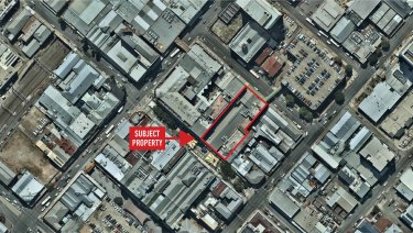 The new live music venue will be built at 312 Brunswick Street, Fortitude Valley.