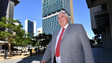 "The lawyer for Clive Palmer's nephew Clive Mensink has not spoken with his client, telling a court Mr Palmer was the ""conduit""."