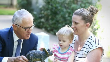 The Turnbull government is introducing a new childcare payments system on July 1 this year.