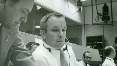 Apollo Mission Control flight director Gerry Griffin.