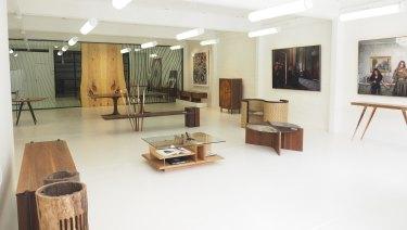 The Manapan/Lineal showroom in Wilson Street, South Yarra.