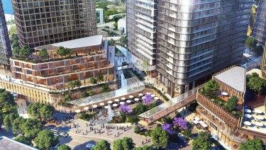 """Applecross Central is an """"aspirational design""""."""