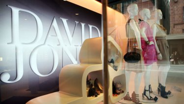 Tough trading conditions have been blamed for the write-down of David Jones.