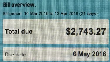 Stephen Wetton's first monthly bill from AGL was almost double what he was previously charged quarterly.